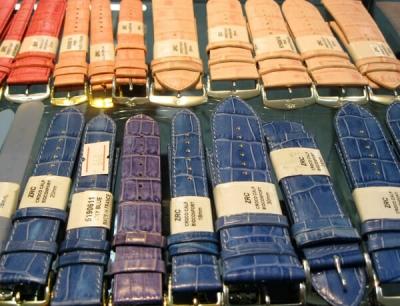 Ремешки для часов цветные Франция