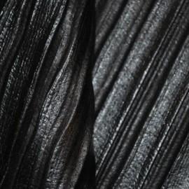 Кожа Овчина Гофра черная Г8181