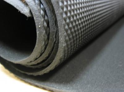 Рант микропористый ВШ  3,0 мм 1100 * 720 черный