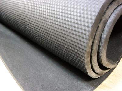 Резина микропористая НПШ 7,5* 1200 * 770 мм черная