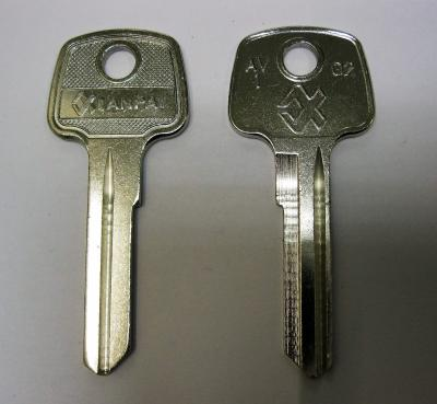 Заготовка  для ключей 00063 AV1_AVG1S_AV1R_AVD1L Авангард