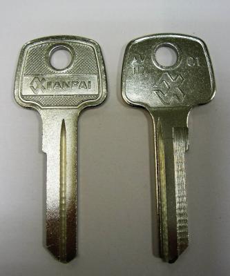 Заготовка для ключей 00064 AV1D_AVG1D_AV1_AVD1 Авангард Английские
