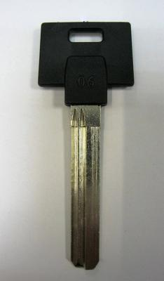 Заготовка для ключей 00596 MULT3PL MuI-t-Lock long 006 вертикальная