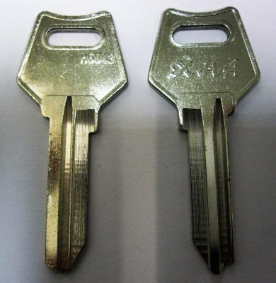 Заготовка для ключей 00144 H6043 Английские