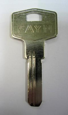 Заготовка для ключей 00550 КАЕ1 (FAYN1) левый вертикальная