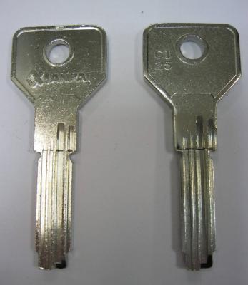 Заготовка для ключей 00503 CI25.CI57_C25.C25T_CS146.CS70 CSA76_C вертикальные