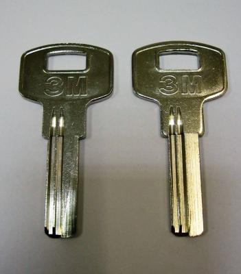 Заготовка для ключей 00546 3M1D_X_X_X верикальные