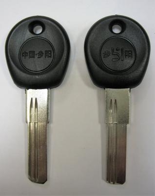 Заготовка для ключей 00570 STOP-СТОП-01DP (2,8*9,1*28мм) вертикальные