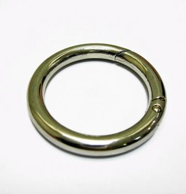 Карабин кольцо для сумок №14 d38мм 3105-38 никель