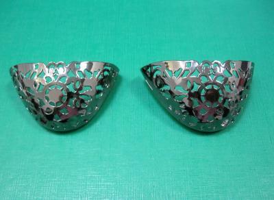 Носок для обуви металлический никель