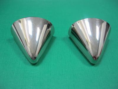 Носок для обуви металлический светлый никель