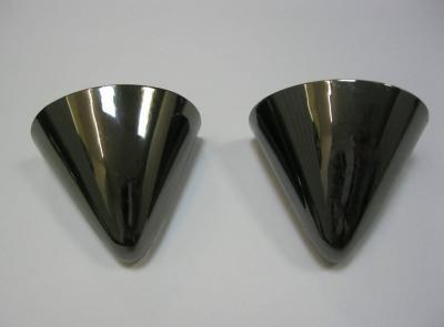 Носок для обуви металллический темный никель