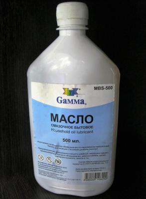 Масло смазочное Бытовое 500 мл GAMMA MBS-500