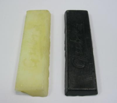 Воск плитка в ассортименте цвет черный, белый