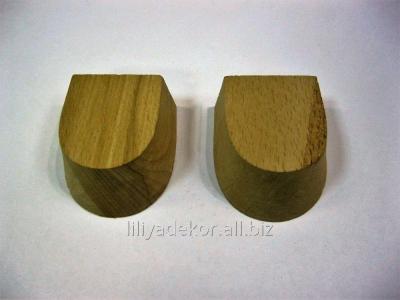 Каблуки деревянные для танцевальной обуви № 5