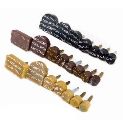 Набойки полиуретановые со штырем ARCHITAK №2 коричневые