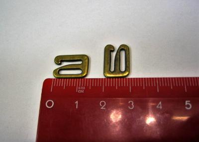 Пряжка-скоба для босоножек 7 мм бронза