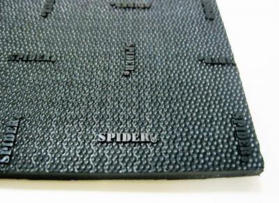 Лист набоечный SPIDER  чёрный