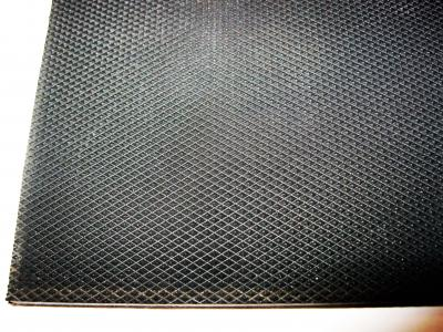 Набоечный лист DIAMOND 6 мм 50*50 см чёрный