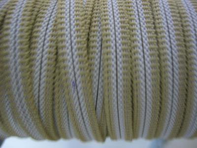 Резинка для пряжек 6 мм бежевая