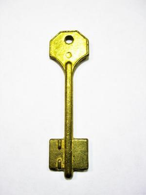 Заготовка для ключа CLASS фл.2ст.левый паз, флажковая