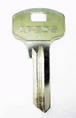 Заготовка для ключей APEX AP-2D английская
