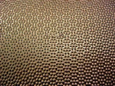 Набоечный лист TOPY темно-коричневого цвета 80 см*60см*6мм