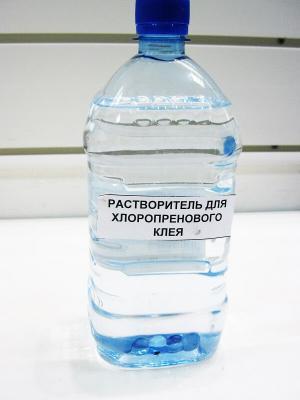 Растворитель хлоропреновый для наиритового клея, 1 л