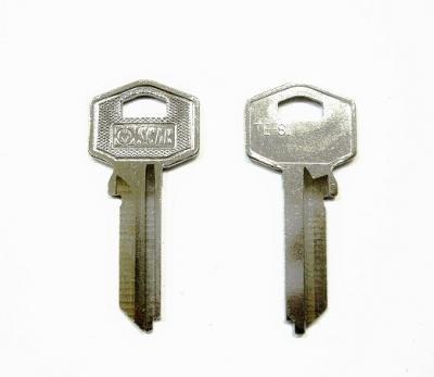 Заготовка для ключа OSCAR TE-8I английская 2 паза