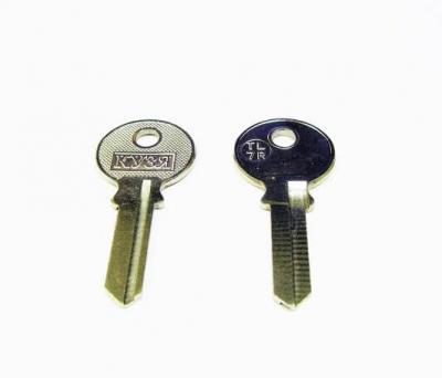 Заготовка для ключа Кузя TL-7R английская 1 паз