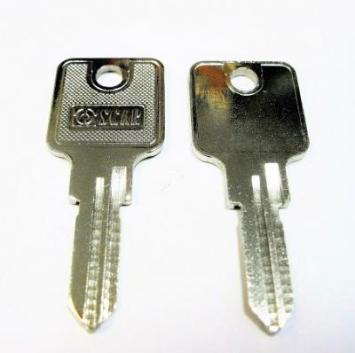 Заготовка для ключа английская OSCAR HUW-1E UW-4 HUW-1D 2 паза