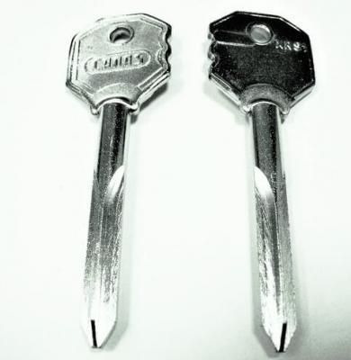 Заготовка для ключа CANAS XRS1 крестовая