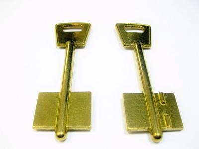 Заготовка для ключа КРЕПЫШ 80 мм флажковая