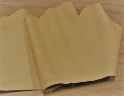 Пола шорно-седельная, Натуральная толстая кожа КРС бежевого (натурального) цвета