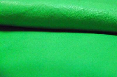 Кожа КРС (обрезки) светло-зеленая