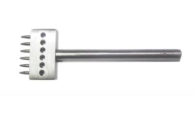 Пробойник круглый с шагом 5 мм, диаметр 1 мм