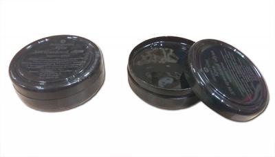 Крем для обуви армейский чёрный, гуталин (вакса)