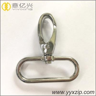 Карабин сумочный 5х5 см серебро