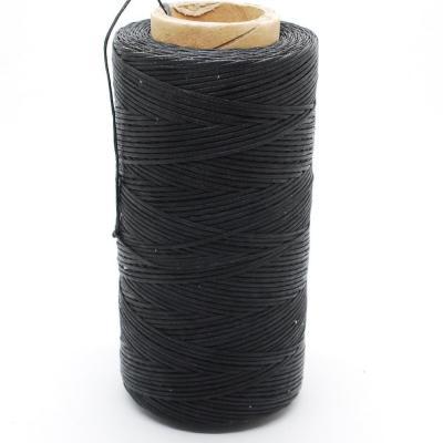 724 Нитки вощеные Дафна св. серый.d1мм для ручной прошивки