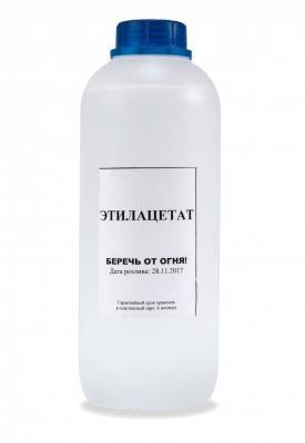 Этилацетат 1 л (матовый флакон)