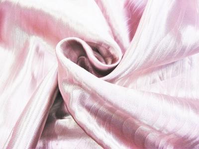 """Портьерная ткань Блэкаут цвет розовый рисунок """"морской штиль"""""""
