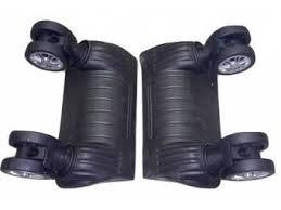 Колеса для чемодана диаметр 50 мм, высота 155 мм