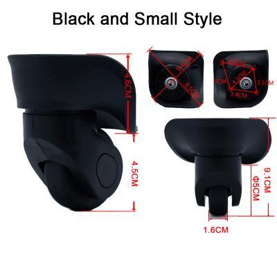 Колеса для чемодана маленькие и большие диаметром 45 мм