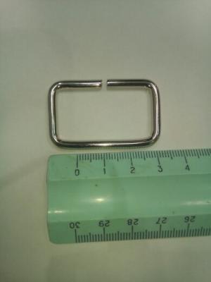 Рамка металлическая серебро