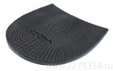 Набойки формованные Piligrim H0007L черные 85х95х6,2 мм