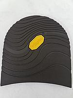 Набойки формованные H0026 черные 95х105х7,5 мм